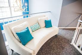 white leather sofa from damage