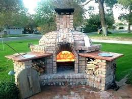 outdoor fireplace pizza oven combo diy and plans