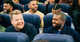 <b>Kanye West</b> takes a spiritual flight for 'Airpool Karaoke' - Los ...