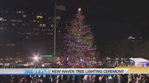 New Haven Green Tree Lighting 2018 Todays Dish