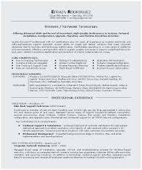 It Technician Resume 24138 Allmothers Net