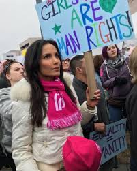 Padma Lakshmi Marches with Ex Adam Dell and Their Daughter After Reports  They Rekindled Romance