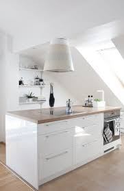 Attic Kitchen 17 Best Ideas About Scandinavian Small Kitchens On Pinterest