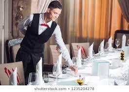 Image result for images of restaurant attendant