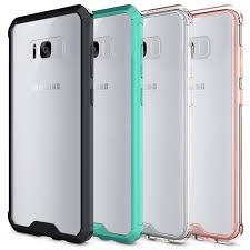 samsung phone back. for samsung galaxy s8 case soft tpu bumper + clear hybrid back cover s8plus note 8 phone online with