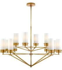 antique brass chandelier celier vintage made in spain chain