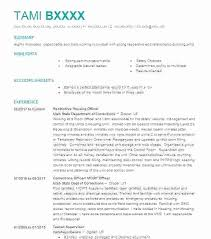Public Health Resume Template