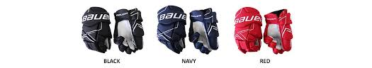 Bauer Hockey Gloves Size Chart Bauer Nsx Sr Hockey Gloves