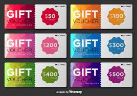 gift card template vector art s invitation card modern gift voucher vector templates