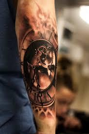 Clock Tattoo Love The Gears тату татуировка часы татуировки и тату