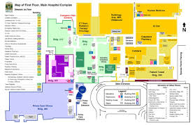 facility map dayton va medical center, ohio Dayton Map map of the first floor dayton mapquest