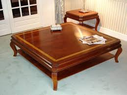 Photo Of Large Wood Coffee Table With Coffee Table Large Square Coffee Table  Pictures Large Square