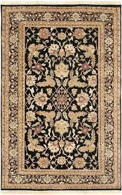 surya taj mahal tj 44 black area rug