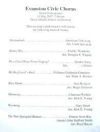 Music Concert Program Template Word Event