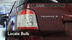 ford taurus x interior fuse check ford taurus x brake light change 2008 2009 ford taurus x