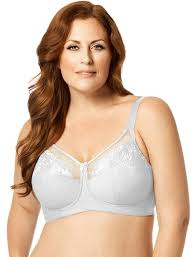 Embroidered Microfiber Soft Cup Bra 1301