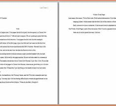 College Essay Format Apa World Of Example Throughout