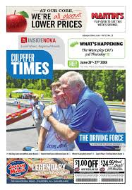June 21st, 2018 -- Culpeper Times by InsideNoVa - issuu