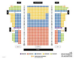 Seat Map Ogunquit Playhouse