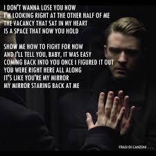 Frasi di canzoni . . . - Justin Timberlake #Mirrors 2013 #hit