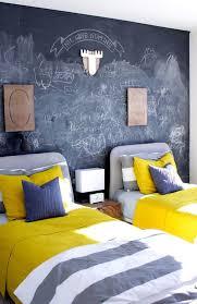 chalk chalkboard wall yellow target wood initials stripes