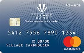 Credit Card Rewards Credit Card Credit Village Bank