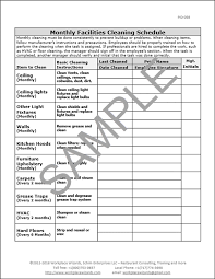 Cleaning Chart Checklist Cleaning Chart Bismi Margarethaydon Com