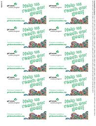 Printable Thank You Cards Girl Scout Cookies Download Them Or Print