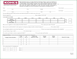 application form for job at a store applicationsformat info kohl s department store job application printable online by krishna53