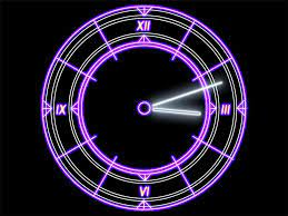 luminescent clock live wallpaper ...