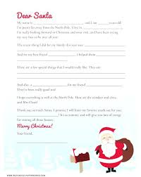 Free Letter From Santa Word Template Personalized Letter From Message To Template Christmas Santa
