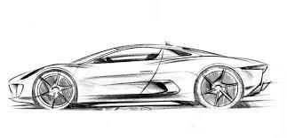 Contoh gambar mobil dengan pensil yang keren diarsir mudah cepat