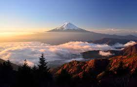 Wallpaper autumn, light, mountain ...