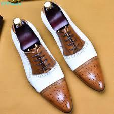 <b>QYFCIOUFU</b> Mens Business Shoes Luxury Dress Shoes <b>Genuine</b> ...