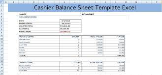 A combo chart in excel is a chart that displays multiple sets of data in different ways on the same chart. Cashier Balance Sheet Template Excel Spreadsheettemple