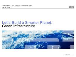 Ibm Presentations Smart Planet Template