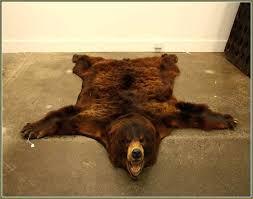 fake bear rug fake bear rug stunning fake bear skin rug bear rug fake fake bear