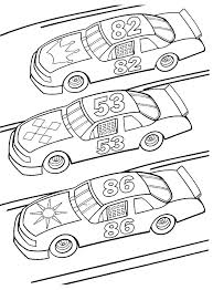 Race Car Coloring Pages Printable Free Race Car Color Page Free