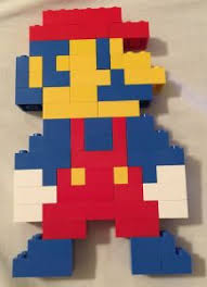 Lego Patterns Amazing Mario LEGO Projects With Building Instructions Eli Pinterest