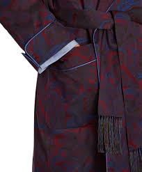Brooks brothers Silk Paisley Dressing Gown in Red for Men | Lyst & Gallery Adamdwight.com
