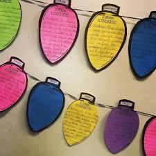 Kindness Christmas Lights Lights Of Kindness Lighting Up The Classroom With Kindness