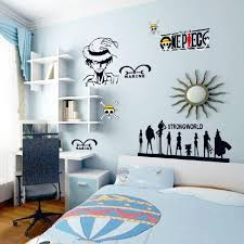 anime manga one piece kids cartoon wall stickers home decor living room wall decor for nursery bedroom souq uae