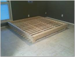 Bedroom Build Wooden Platform Bed Frame Bed Frames For Sale Queen