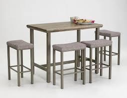 chrome highboy table