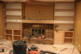 Built In Cabinets Beside Fireplace Img 5485jpg