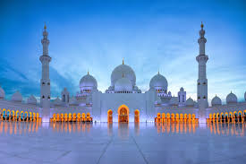 this architectural work of art is one the world s largest mosques with a capacity for an astonishing 40 000 worshippers it features 82 domes
