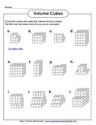 Volume Of Shapes Worksheet Worksheets for all | Download and Share ...