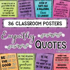 Empathy Quotes Magnificent Kindness Empathy Quotes BUNDLE Bulletin Boards Character Ed