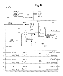 patent us vertical mount electrical power distribution patent drawing