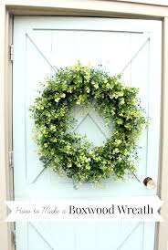 faux boxwood garland how to make an artificial boxwood wreath com faux boxwood garland lights